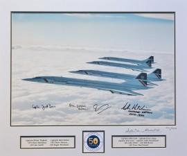 50th Anniversary Tribute - Four Concordes 1986