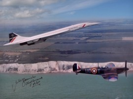 Concorde & Spitfire