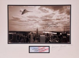Concorde Limited Photograph New York to London