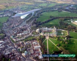 Concorde Over Windsor Castle - 16x12